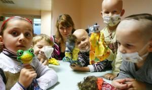 «Волшебная книга мечты» для детей, больных раком