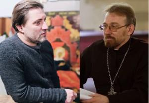 Иван Глазунов и о. Сергий Круглов