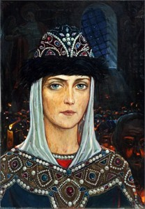 Knyaginya_Evdokiya_v_Hrame_Glazunov_1979
