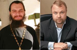 Сергей Габестро и прот. Игорь Фомин