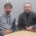 прот. Михаил Таганов и Владимир Лучанинов 1