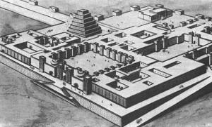 Дворец Ассирийского царя Саргона