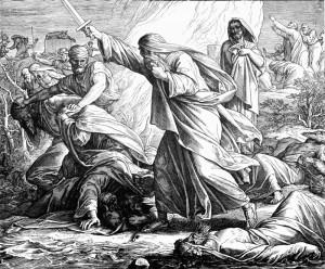 Пророк Илия и жрецы Ваала