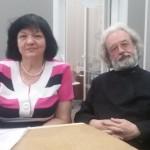 о. Александр Ильяшенко и Ирина Мошкова3