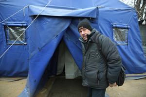 Теплая одежда для бездомных