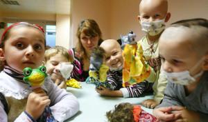 Арт-терапия для больных детей