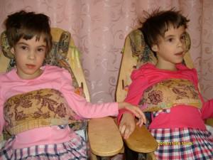 Реабилитация для близняшек Вероники и Маргариты