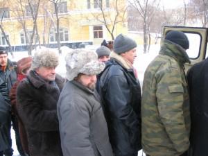 Обеды для бездомных на «Белорусской»
