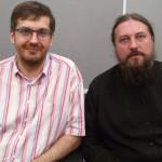 прот. Илья Шугаев и Валерий Доронкин 2