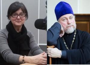Инина Наталья и о. Петр Коломейцев