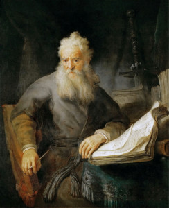 Рембрандт (1606—1669) Апостол Павел