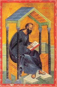 ап.Павел пишет послание
