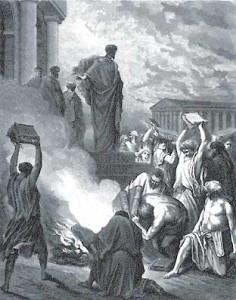 """Гюстав Доре. """"Св. Павел в Эфесе"""""""
