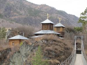 Скит Барнаульского Знаменского монастыря в селе Чемал (Алтайский Патмос)