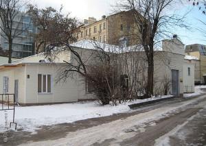 Церковь Александра Невского на дворе полицейской больницы Ф. П. Гааза, впоследствии больницы им. Александра Третьего