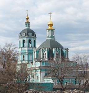 Церковь Николая Чудотворца (Спаса Преображения) в Заяицком