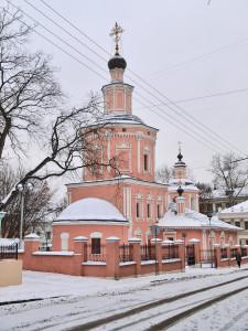 Церковь Троицы Живоначальной в Хохловке