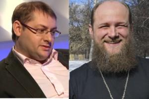 о. Александр Кузнецов и Павел Алашкин