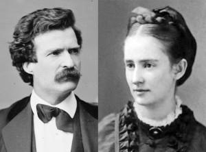Марк Твен и Оливия