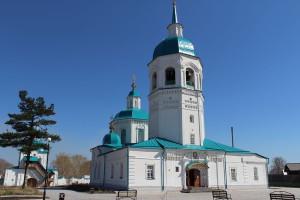 Спасо-Преображенский мужской монастырь в Енисейске