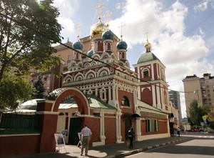 Церковь Успения Божией Матери в Гончарах, в Спасской слободе