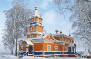Спасо-Преображенский Важеозерский мужской монастырь