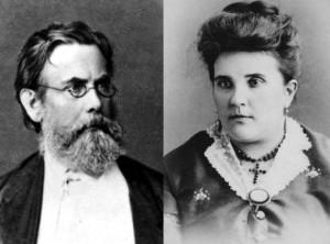 Владимир Вернадский и Наталья Старицкая