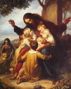 иисус-с-детьми