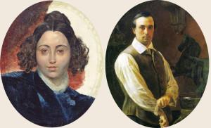 Петр и Ульяна Клодт
