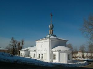 Церковь Жен Мироносиц история любви в камне