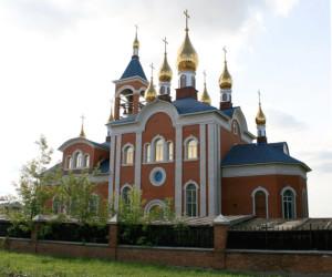 Церковь иконы Божией Матери Всех скорбящих Радость мини