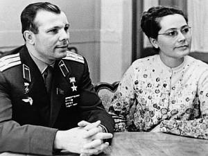 Юрий и Валентина Гагарины