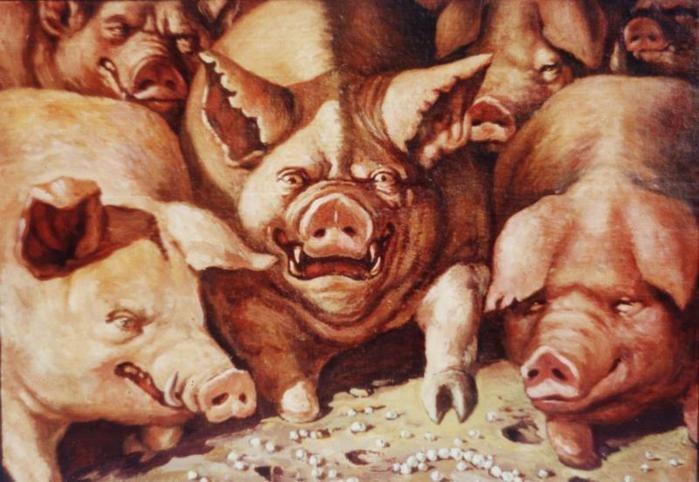 Не мечите бисер перед свиньей