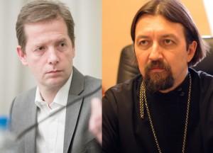 о. Максим Козлов и Жан-Франсуа Тири
