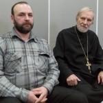 прот. Александр Борисов и Емельян Сосинский