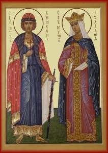 Иулиания и Симеон Вяземские