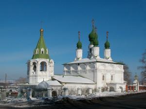 Преображенская и Введенская церкви