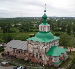 Соликамск. Крестовоздвиженский храм