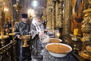 Святитель Феодор Тирон. Традиция освящения колива