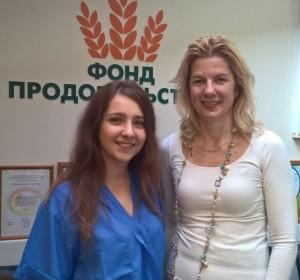 Анна Алиева и Виктори Крисько