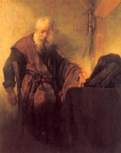 Апостол Павел в темнице