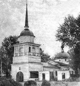 Дедюхин. Церковь во имя Всех Святых