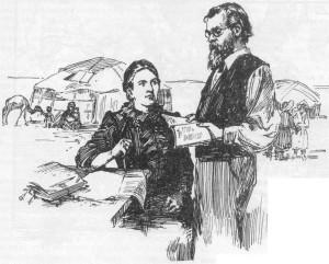 Григорий и Александра Потанины