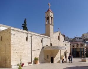 Храм Благовещения над источником Пресвятой Богородицы