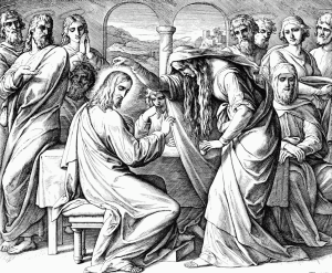 Помазание Христа миром