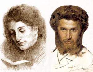 Архип и Вера Куинджи