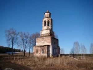 Верх-Усолка. Покровская церковь