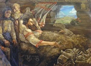 Преподобный Илья Печерский Муромец