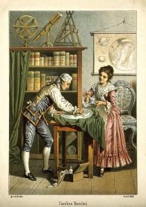 Уильям и Каролина Гершель