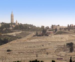 Гора Елеон - место Вознесения Господня